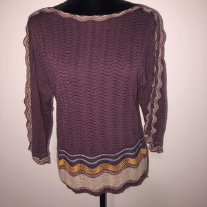 M Missoni Made in Italy Sweater 48/US12 Wool blend